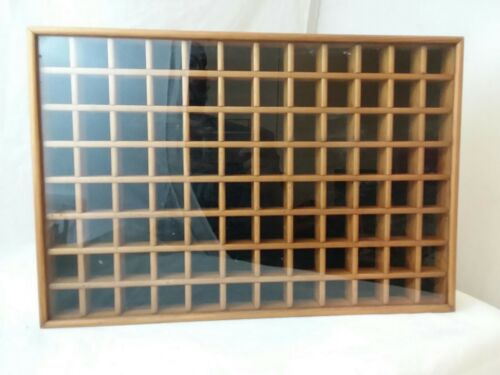 Tannery Lane Oak Glass Display Case Large