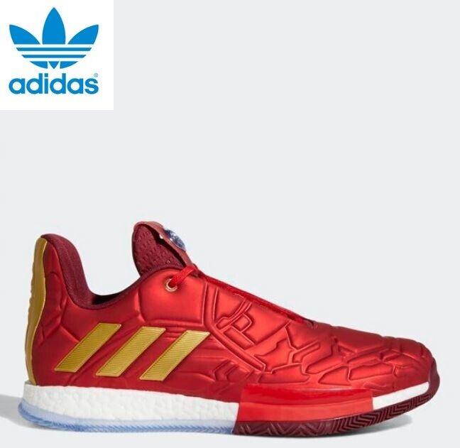 Nouveau Adidas × MARVEL Homme Iron Man Harden VOL.3 Basketball chaussures EF2524