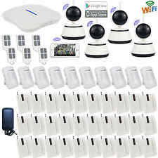I72 IP Camera WIFI PSTN Wireless Home Security Alarm Burglar System+App Diy Set