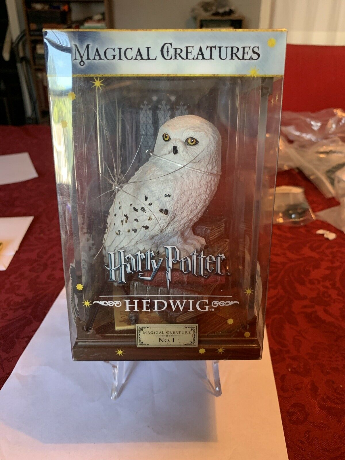 Harry Potter Magical Creatures Hedwig Figurine Noble Collection NN7542 Brand New