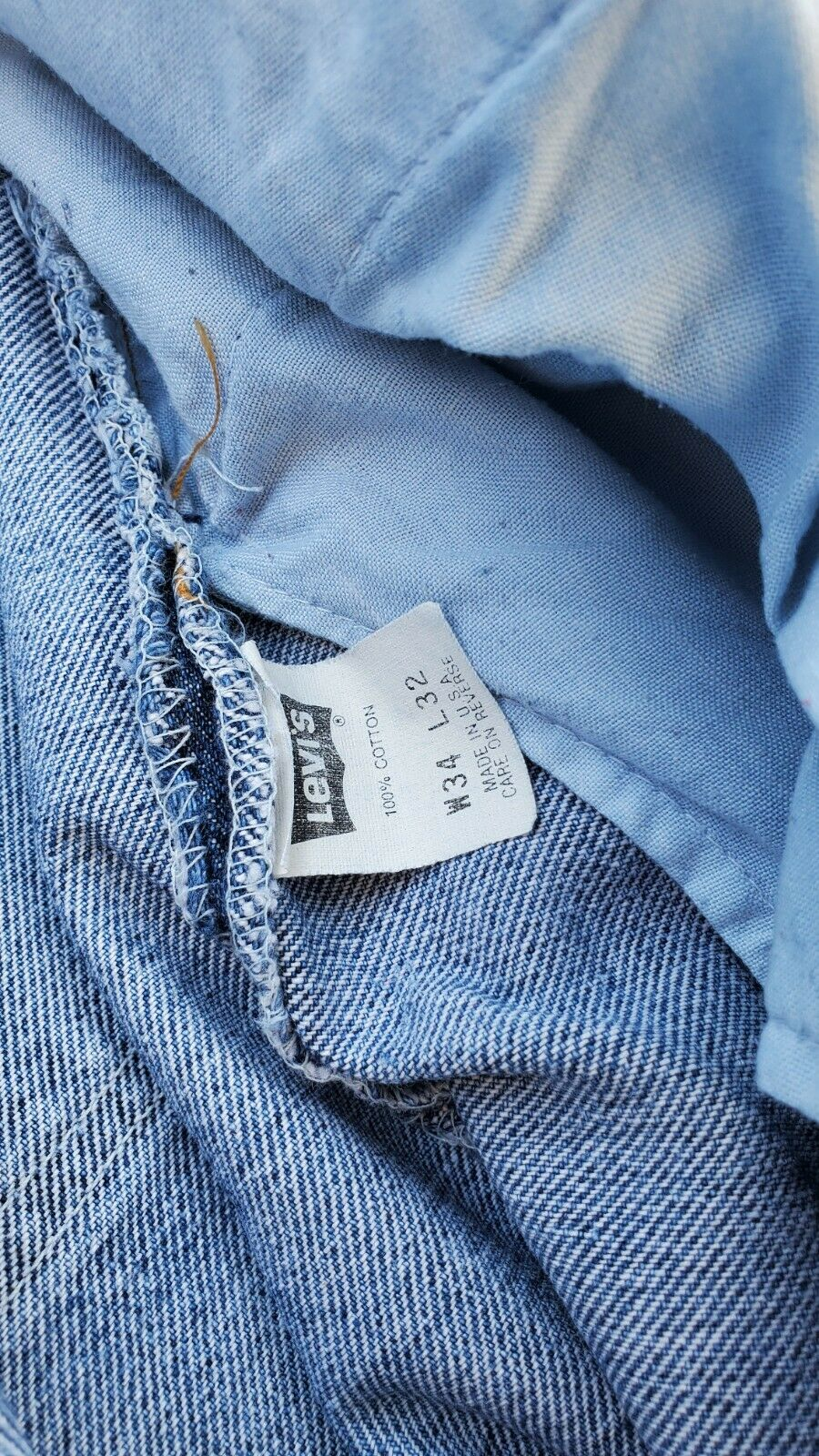 levis 560 34x32.made In Usa - image 6