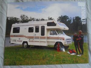 Details about Winnebago Itasca Sundancer Motorhome brochure 1988