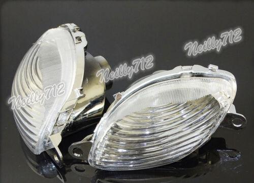 Front Turn Signal Blinker Lens Bulb Lamp Fit 1999-2007 SUZUKI Hayabusa GSXR 1300