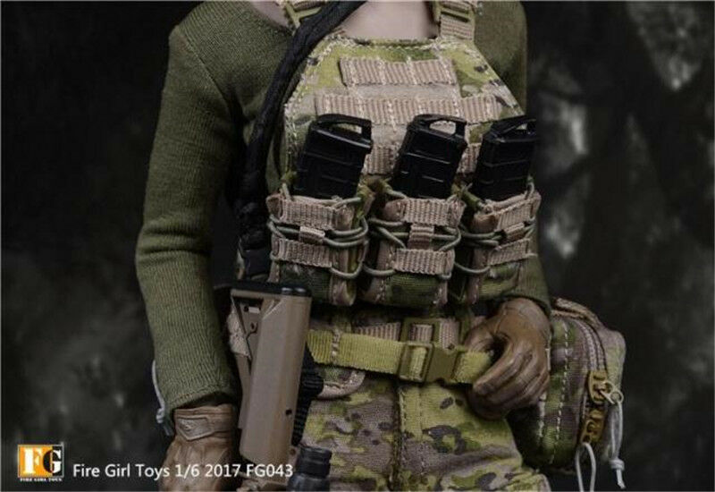 Fire Girl Toys 1 6 FG043 Navy SEALs women CP CP CP camouflage commando suit 39c677