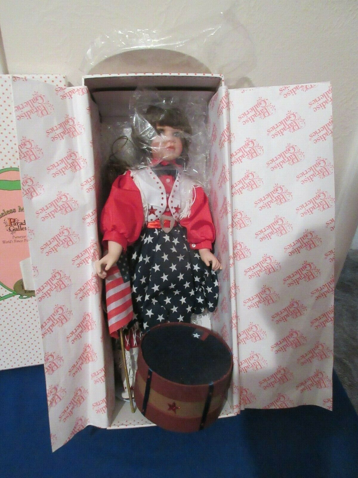 Paradise Galleries Great American Country Girl Doll nunca fuera de caja