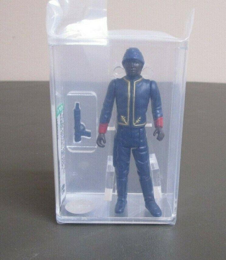 Bespin Guard (Noir) 1981 Star Wars classés figurine Autorité 85 Near Comme neuf + Hong Kong COO JJ NEW CASE