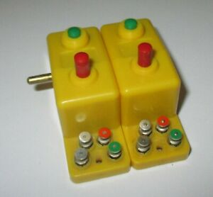Trix-66594-Interrupteur-a-Double-Fonction-Jaune