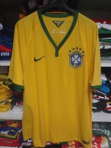 b78de02092 Maillot BRESIL BRAZIL 2014 2016 NIKE CBF jersey shirt camiseta ...