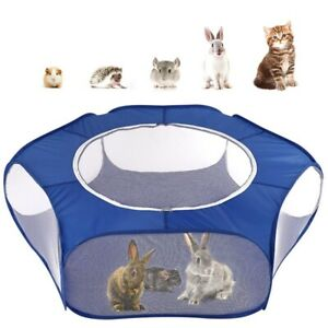 Small-Animals-Playpen-Breathable-amp-Waterproof-Small-Pet-Cage-Tent-with-Zippered