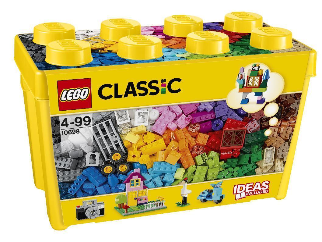 LEGO® CLASSIC 10698 - GROßE BAUSTEINE-BOX NEU OVP
