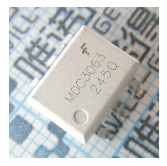 5pcs MOC3063 OPTOCOUPLER TRIAC 600V 6DIP ZC New