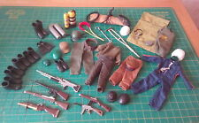 Vintage Palitoy Action Man & GI Joe Accessory Large Bundle 1960s 1970s Guns Hats