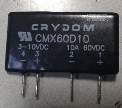 100 un CMX60D10 CRYDOM montaje de placa de circuito impreso Relé De Estado Sólido