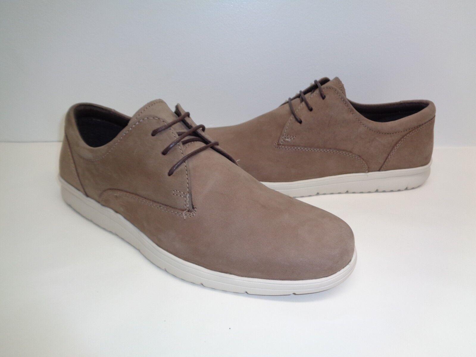 78e522eb ... Steve Madden M arcilla marrón amarillento De Cuero Con Con Con Cordones  Oxford nuevo Zapatos para ...