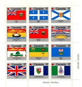 Kanada Zd Bogen &quot;Flaggen&quot; MiNr.731-742 von 1979 Postfrisch KA 004 - <span itemprop=availableAtOrFrom>Remscheid, Deutschland</span> - Kanada Zd Bogen &quot;Flaggen&quot; MiNr.731-742 von 1979 Postfrisch KA 004 - Remscheid, Deutschland