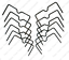 Dozen-Papio-Creek-Weld-On-Trap-Stabilizer-Center-Locator-Leg-Hold-Traps-USA-Made thumbnail 1
