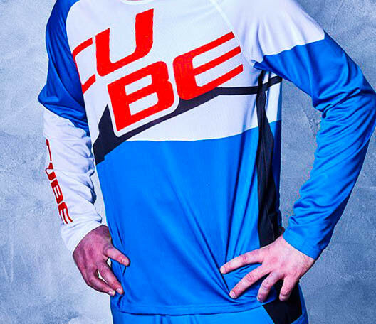 cube Action Crew Jersey Pilot  Long Sleeve at6 Size S 10675    trendy