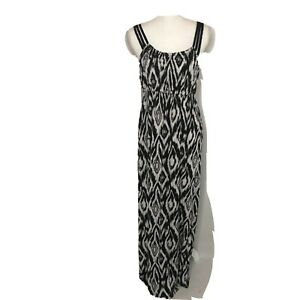 Apt 9 dress black and white maxi