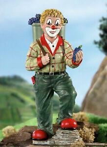 Gilde-Clown-10162-Weinlese-Partyfigur-2009-neu-OVP-Weintrauben-Wein