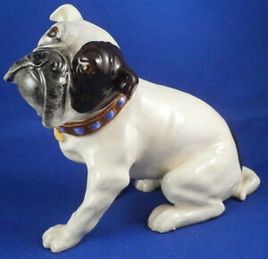 english bulldog figurine wiener kunstkeramische werkst 228 tte english bulldog ceramic 4246
