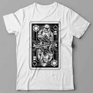 4d02e95c Image is loading Funny-cool-T-shirt-Stormtrooper-Playing-Card-poker-