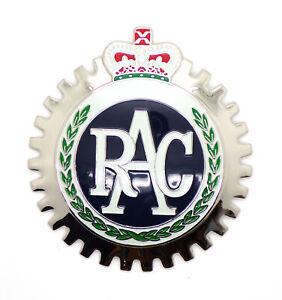 Vintage-Classic-Car-Accessory-RAC-Grill-Badge-VW-Porsche-356-911-Merc