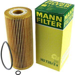 Original-hombre-filtro-filtro-aceite-filtro-hu-726-2-x-filtro-Oil