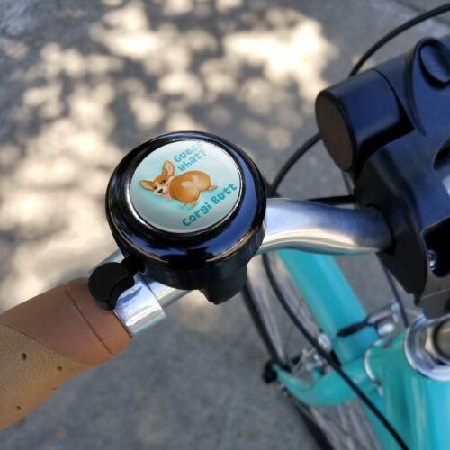 Guess que CORGI Butt drôle blague vélo guidon de vélo Bell