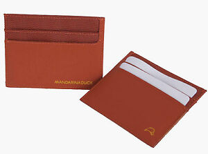 Mandarina-Duck-Creditcard-Holder-Kreditkartenetui-Orange-Work-Bag-Cardholder