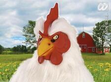 Pollo De Goma De Máscara De Animales De Granja Gallo Chicken Run Fancy Dress