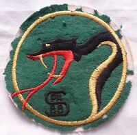 Patch Armée de l'Air ancien feutrine 1° ESCADRILLE SPA 88 CHASSE 3/11 CORSE