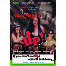 Russ Meyer's UP! (DVD) Rare UNCUT Cult Classic! Raven De La Croix Candy Samples