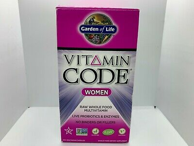 Best Whole Food Multivitamin 2021 Garden Of Life Vitamin Code Women Wholefood Multivitamin 240 Caps