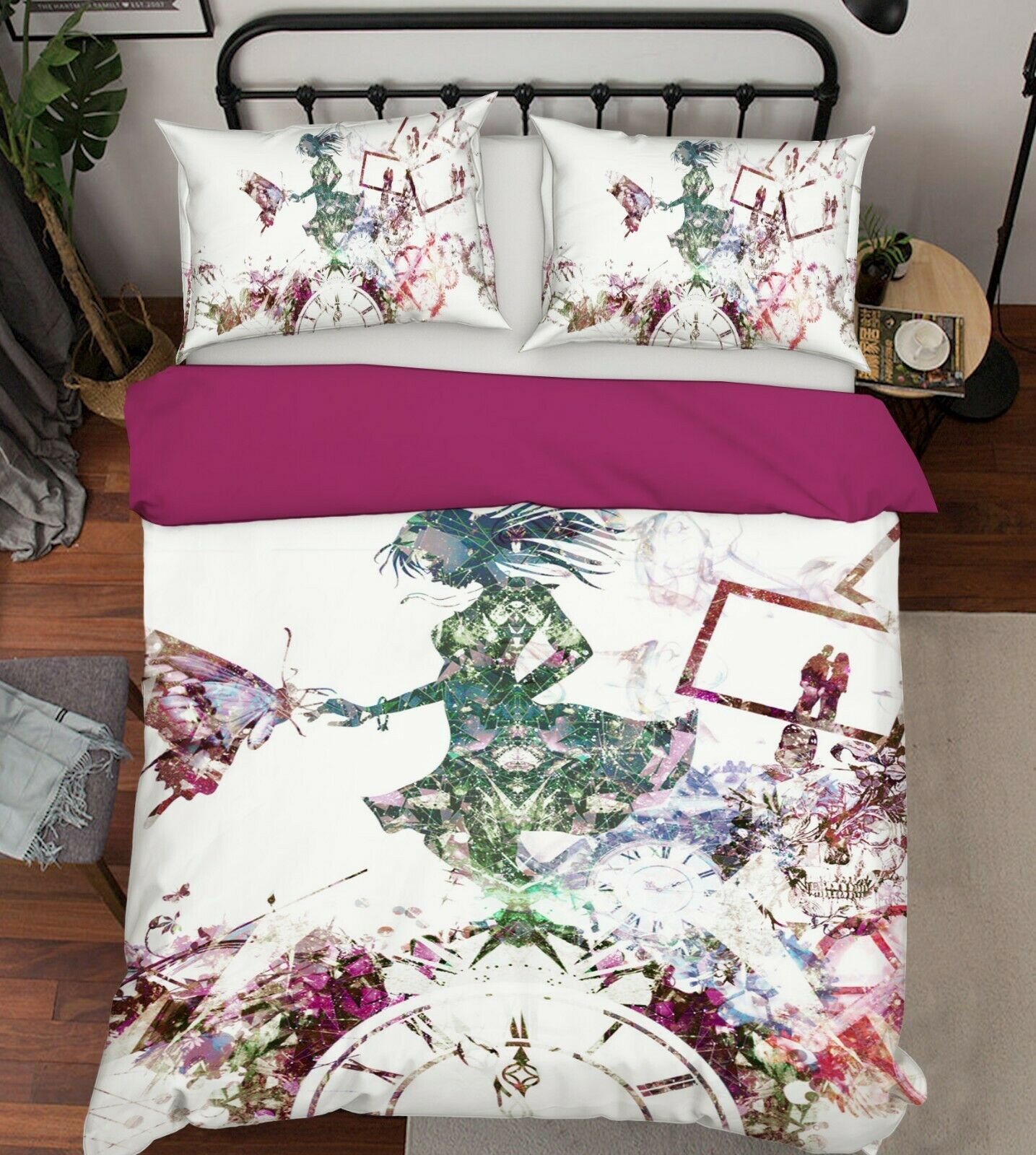 3D Your Name 830 Japan Anime Bed Pillowcases Quilt Duvet Cover Set Single