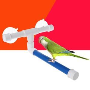 Details about Pet Parrot Bird Standing Holder Platform Rack Wall Shelf Bath  Shower Stand Toys