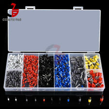 1200pcsset Assorted Crimp Terminals Insulated Electrical Wiring Connector Kits