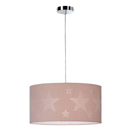 Design Hänge Leuchte Küchen Tisch Stoff Pendel Lampe Decken Ess Zimmer Sterne
