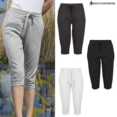 Costruisci Il Tuo Marchio Women's Terry 3/4 Jogging Pants By067-mostra Il Titolo Originale Morbido E Leggero