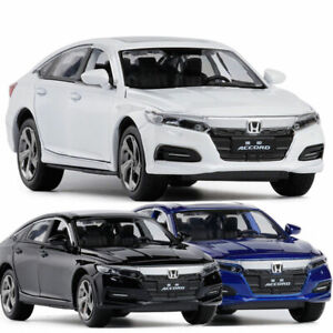 1-32-Honda-Accord-Die-Cast-Modellauto-Auto-Spielzeug-Model-Sammlung-Pull-back