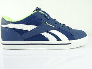 Reebok-Classic-Damen-Schuhe-Turnschuhe-Sneaker-Schnuerschuhe-Blau-Gr-37