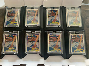 LOT OF 8 2020 TOPPS PROJECT Ken Griffey Jr. Card 88 1989 by Keith Shore CARDS 8!