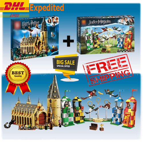 NEW  75954 Harry Potter Hogwarts Great Hall Castle Building Kit - 878 Pieces