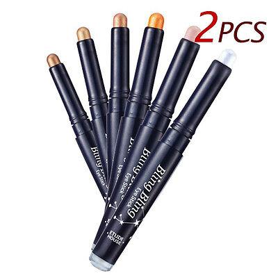 [ETUDE HOUSE]  Bling Bling Eye Stick 5 Color 1.4g *2pcs* - BEST Korea Cosmetic
