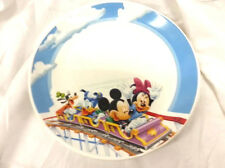 Disney Mickey Mouse Minnie Mouse Donald Goofey Ceramic Dinner Plate 1pc