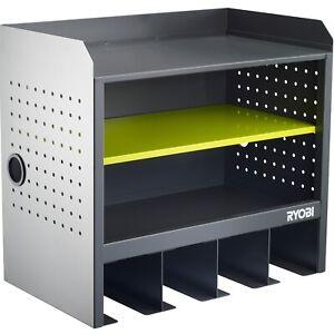 Ryobi-Open-Shelf-Hanging-Wall-Storage-Tool-Box-Easy-attachment-to-walls