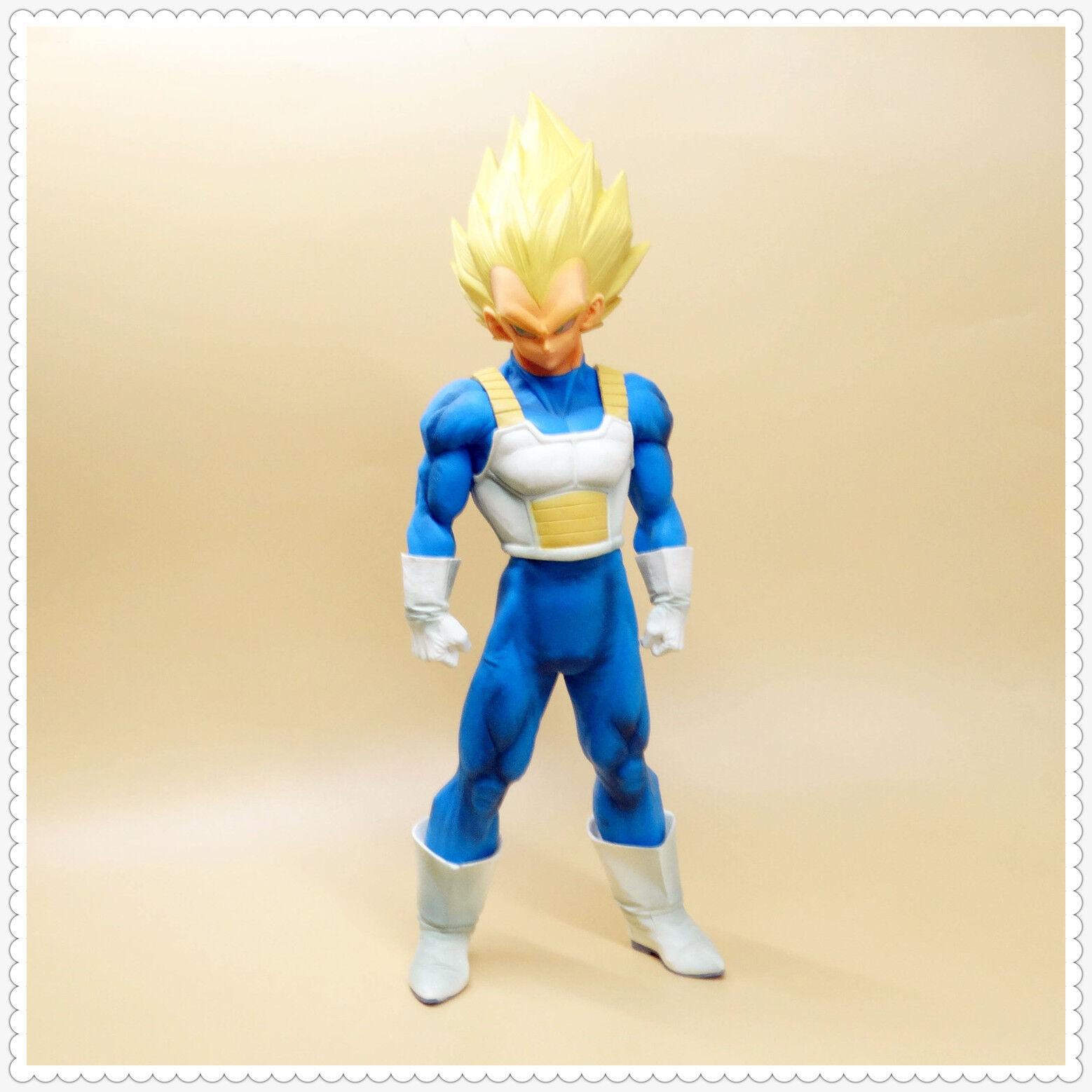 DragonBall Z Super Master Stars Piece Vegeta 30cm 12  PVC Figure LOOSE B1