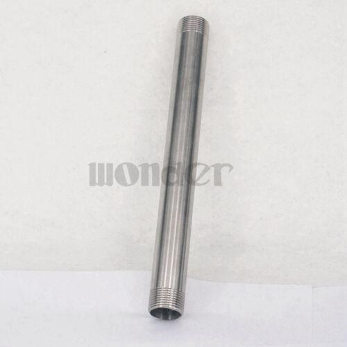 """304 conector de montaje de pipa recta de acero inoxidable 3//4/"""" BSP macho longitud 250mm"""