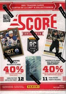 5-2013-14-Score-NHL-Hockey-Factory-Sealed-HUGE-Blaster-Boxes-w-132-Cards-per