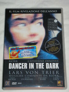 BJORK Dancer In The Dark Prima Edizione Insert Sticker dicitura film rivelazione - Italia - BJORK Dancer In The Dark Prima Edizione Insert Sticker dicitura film rivelazione - Italia
