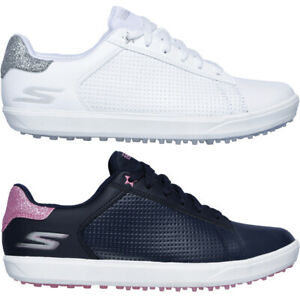 new york best sell new arrival Skechers Ladies Go Golf Drive Shimmer Spikeless Waterproof Womens ...